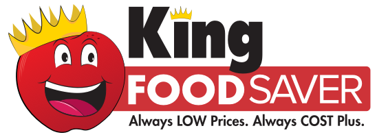 A theme logo of King Food Saver